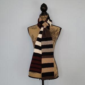 J. Crew Striped Wool Scarf